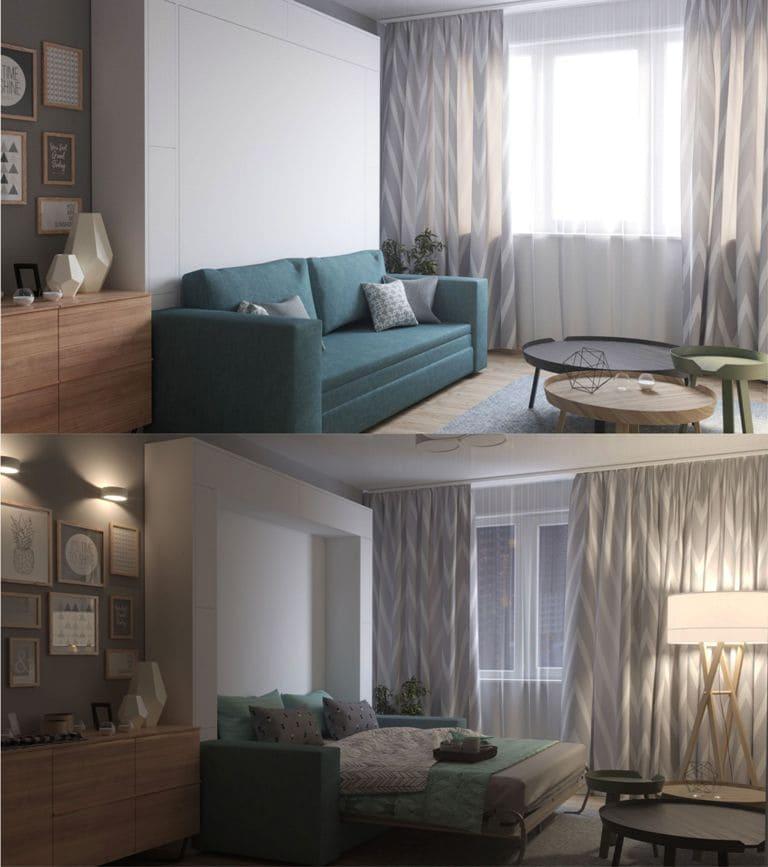 кровать диван от дизайнера